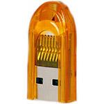 Карт-ридер внешний SmartBuy SBR-710-O MicroSD, оранжевый