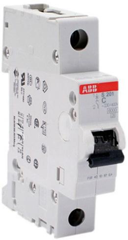 Фото - Автоматический выключатель ABB 2CDS251001R0014 S201 1P 1А (C) 6kA автоматический выключатель abb 2cds251103r0104 s201 1p n 10а с 6ка