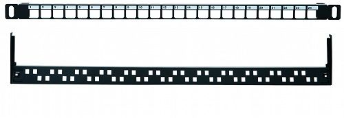 Патч-панель Eurolan 27B-00-24-05BL наборная 19