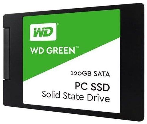 Накопитель SSD 2.5 Western Digital WDS120G2G0A WD Green 120GB SATA-III TLC 545/465MB/s MTTF 1M 7mm