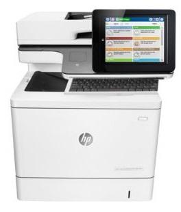 Hewlett-Packard МФУ HP Color LaserJet Enterprise Flow M577c (B5L54A)