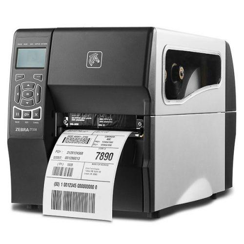 Термопринтер Zebra ZT23043-T3E200FZ TT Printer ZT230; 300 dpi, Euro and UK cord, Serial, USB, Int 10/100, Liner take up w/ peel