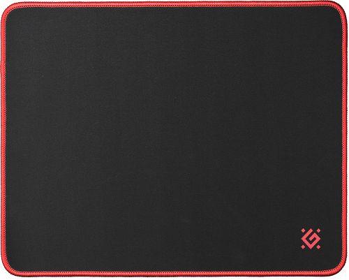 Коврик для мыши Defender Black M 50560 360x270x3мм, ткань+резина коврик defender black xxl 400x355x3мм 50559