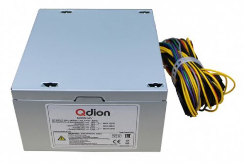 Блок питания ATX Qdion QD-400PNR 400W, вентилятор 120mm power supply fsp qdion atx 350w 120mm 3xsata nonpfc