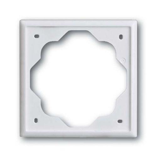 Рамка ABB 1754-0-4222 2CKA001754A4222 1 пост, IP20 (белая))