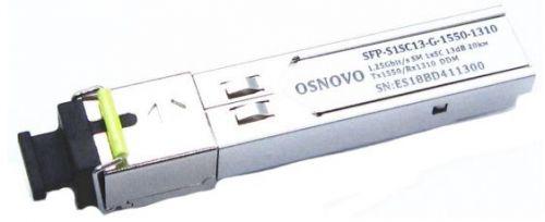 Модуль SFP OSNOVO SFP-S1SC13-G-1550-1310.