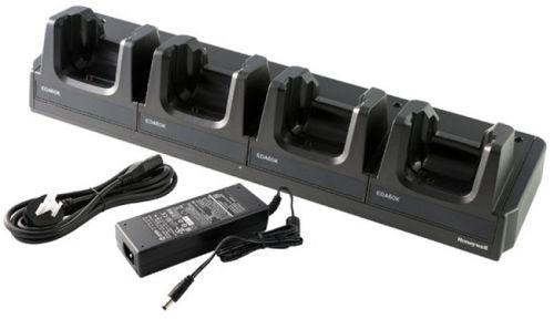 Зарядное устройство Honeywell EDA60K-CB-2 для EDA60K, 4слота, док-станция, блок питания и шнур питания ЕС