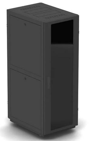 шкаф напольный 19 42u nt basic mg42 68 g 196511 600 800 дверь со стеклом серый Шкаф напольный 19, 42U NT BUSINESS 2 MG42-68 B 203920 600*800, дверь со стеклом, черный