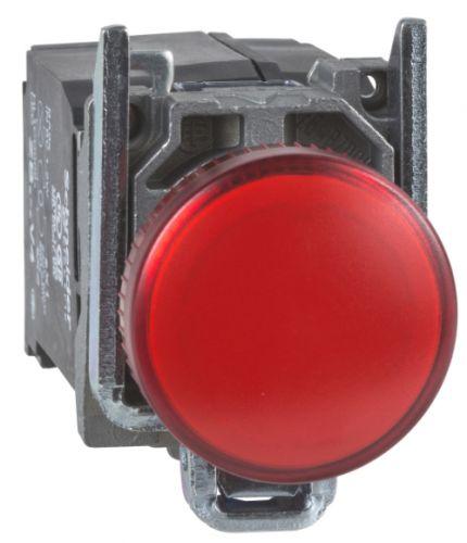 Лампа Schneider Electric XB4BVM4 сигнальная красная светодиодная 230В