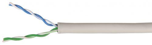 Фото - Кабель витая пара U/UTP 5e кат. 2 пары ITK BC1-C5E02-128 24AWG LSZH 500м белый кабель витая пара u utp 5e кат 4 пары lanmaster lan 5eutp pt lszh lszh оранжевый 305м в кат