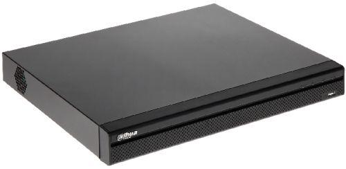 Видеорегистратор Dahua DHI-NVR5216-16P-4KS2E 16-и канальный 4K с 16-ю PoE портами; IVS, детекция лица (FD), распознавание номеров ТС (с ITC-камерой),