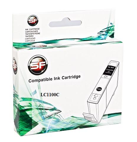 Картридж SuperFine SF-LC1100c для BROTHER LC11/LC16/LC38/LC61/LC65/LC67/LC980/LC1100C(high capacity) cyan 19 ml