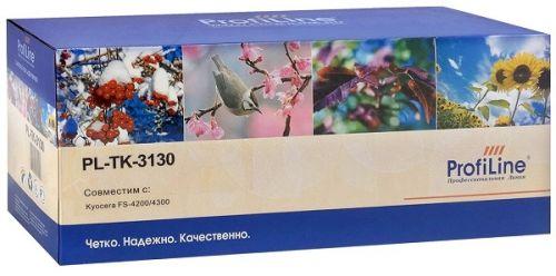 Тонер ProfiLine PL_TK-3130_WC для Kyocera FS-4200/FS-4200DN/FS-4300/FS-4300D/ECOSYS M3550/M3550idn с бункером отработанного тонера 25000 копий