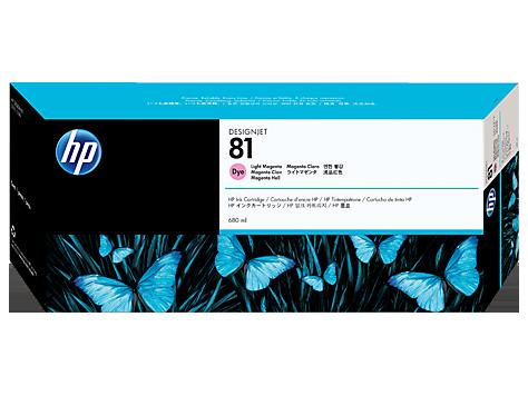 Картридж HP C4935A № 81 светло-пурпурный для принтеров HP DJ 5000 серии, 680 мл