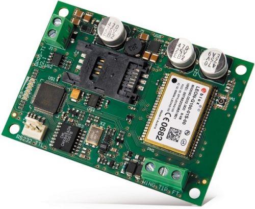 Конвертер SATEL GPRS-T1 BO мониторинга в формат GPRS/SMS, преобразует телефонный сигнал мониторинга от любой ПКП из Contact ID и 4/2 в формат GPRS/SMS