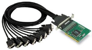 Плата MOXA CP-168U w/o Cable 8-port RS-232, 921.6 Kbps