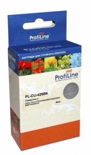Фото - Картридж струйный ProfiLine PL-CLI-426BK-Bk PL-CLI-426BK с чипом для принтеров Canon Pixma IP4840/MG5140/MG5240/MG6140/MG8140 Black водн ProfiLine картридж profiline pl
