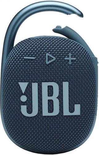 Портативная акустика 1.0 JBL Clip 4 синяя 5W BT 15м 500mAh