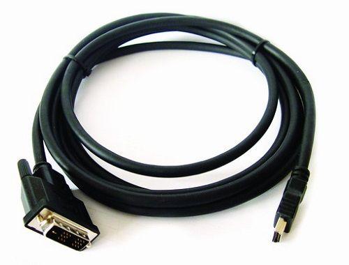 Кабель интерфейсный HDMI-DVI Kramer 19M/25M 97-0201025 7.6м, позолоченные штекеры, черный C-HM/DM-25