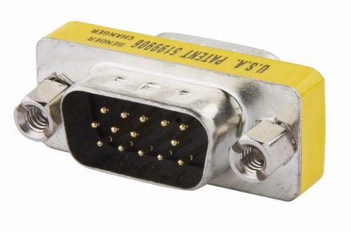 Переходник Kramer AD-GM/GM 99-7101000 с разъемами D-sub HD15 (вилка-вилка)