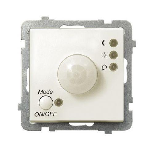 Датчик движения Ospel LP-16R/m/27 электронный, 230V, IP-20, клеммы винтовые, экрю
