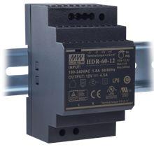 Преобразователь AC-DC сетевой Mean Well HDR-60-12