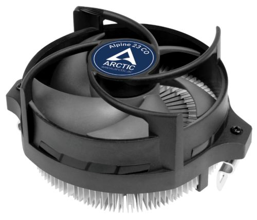 Кулер ARCTIC Alpine 23 CO ACALP00036A AM4 (aluminium, 90mm fan, 100-2000rpm, 4-pin) конденсатор duelund vsf 100 v 4 7 uf aluminium