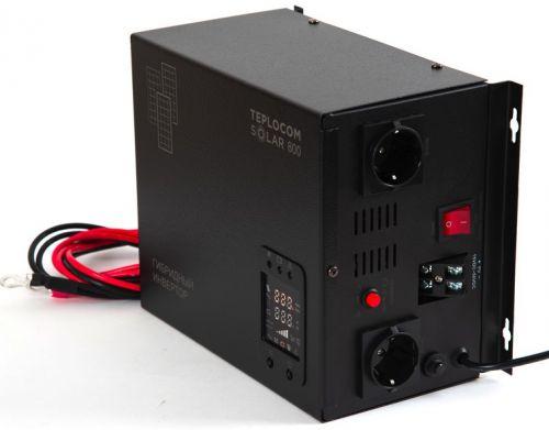 Инвертор Бастион TEPLOCOM SOLAR-800 многофункциональный 220В 800ВА (500Вт)