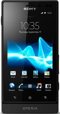 Sony Xperia sola MT27i black