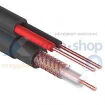 Rexant ККСВ-П + 2х0.5мм., 305м., черный
