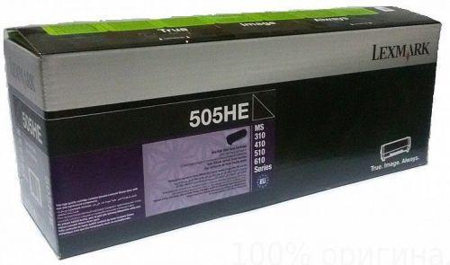 Картридж Lexmark 50F5H0E с тонером высокой ёмкости для MS310/MS410/MS510/MS610, Corporate (5K) блок формирования изображения lexmark для ms310 ms410 ms510 ms610 mx310 mx410 mx510 mx511 mx611 lrp 60k