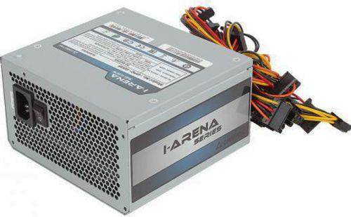 Блок питания ATX Chieftec GPC-600S 600W aPFC, 120mm FAN, КПД 80+, OEM