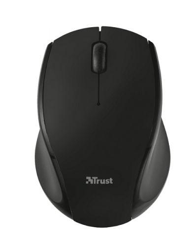 мышь trust varo wireless ergonomic mouse black usb Мышь Wireless Trust Oni USB, 1200dpi, black, подходит под обе руки