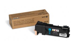 Принт-картридж Xerox 106R01598 для Phaser 6500/WC 6505 голубой 1 000 стр принт картридж xerox 106r01604 для phaser 6500 wc 6505 черный 3 000 стр