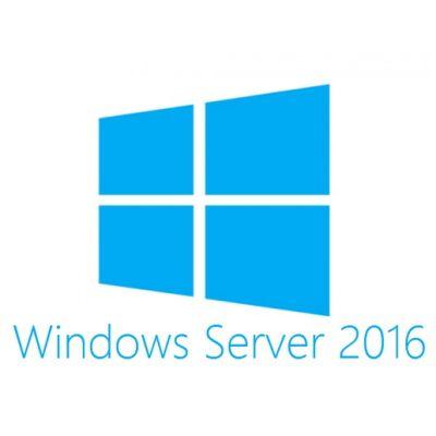 Microsoft Windows Server Standard 2016 64Bit Russian Russia Only DVD 16 Core License 5 Client