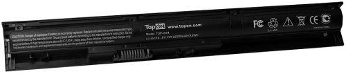 Аккумулятор для ноутбука HP TopOn TOP-VI04-LW для моделей Pavilion 15, 17, ProBook 450 G2, 455 G2 14.8V 2200mAh 33Wh. PN: TPN-Q142, VI04 аккумулятор для ноутбука hp probook 4230 4230s series 4400мач 11 1v topon top hp4230
