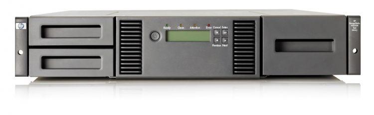 HP MSL2024 0-Drive Tape Library (AK379A)
