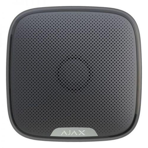 Оповещатель AJAX StreetSiren 7661.07.BL1 (беспроводная уличная сирена). Цвет черный.