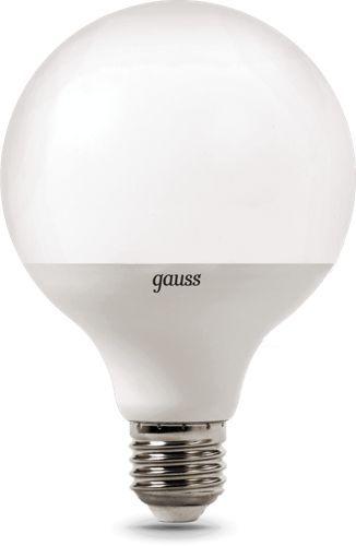 Лампа светодиодная Gauss 105102116 LED G95 E27 16W 1360lm 3000K