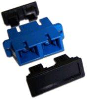 Адаптер проходной Lanmaster LAN-2SC-AM-SM SC, SM, дуплексный
