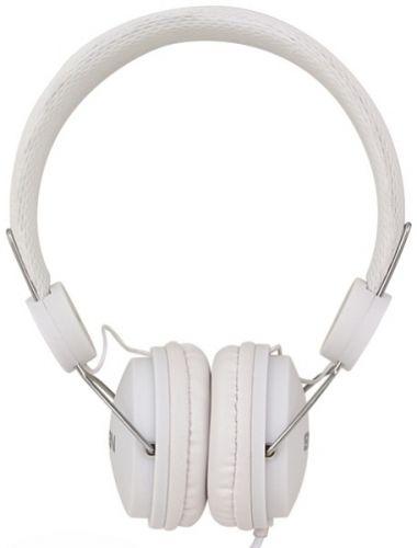 Наушники Sven AP-321M SV-015381 белые, мультимедийные с микрофоном