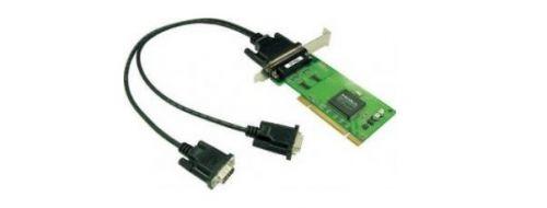 Плата MOXA CP-102UL-DB9M 2-port RS-232, Universal PCI, 921.6 Kbps