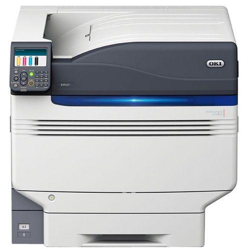 Принтер цветной OKI ES9431 45530507 A3, двусторонняя, 4-цветная, 50 стр-мин ч-б/ цветн., 1200x1200 dpi, подача 830 лист., вывод 610 л