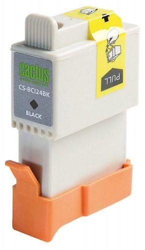 Картридж Cactus CS-BCI24BK для Canon S200 S200x S300 S330 i250 i320 i350 i450 i455