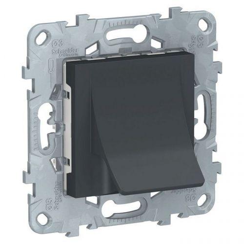 Механизм Schneider Electric NU586254 вывод кабеля, 16А антрацит