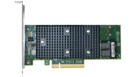 Фото - Контроллер Intel RSP3WD080E tri-mode PCIe/SAS/SATA Entry-Level RAID Adapter, 8 internal ports, SAS3408, RAID 0, 1, 10, 5, 50, PCIe x8 Gen3 sas sata raid контроллер