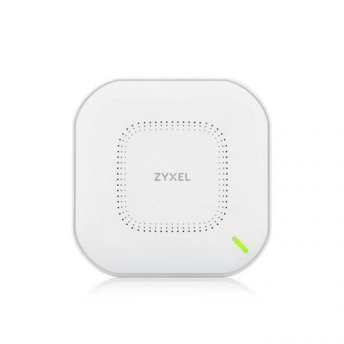 Точка доступа ZYXEL NebulaFlex NWA110AX WiFi 6, 802.11a/b/g/n/ac/ax (2,4 и 5 ГГц), MU-MIMO, внутренние антенны 2x2, до 575+1200 Мбит/с, 1xLAN GE, PoE,