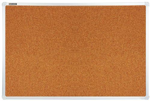 Доска BRAUBERG 231712 пробковая, для объявлений, 60х90 см, алюминиевая рамка