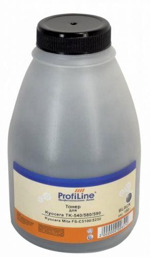 Тонер ProfiLine PL-150-TNR-TK-540/580/590 PL_TNR_W407_BK_150_B Black для принтеров Kyocera Mita FS-C5100/5250/TASKalfa 250ci/300ci 150 гр (W407) Prof