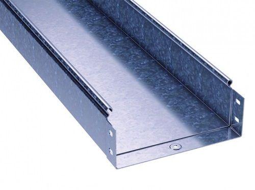 Лоток листовой неперфорированный DKC 3510315 200х100 L3000 толщ.1,5 мм,